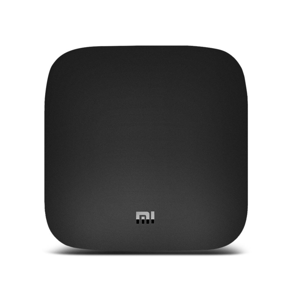 Sale ( Official International Version ) Original Xiaomi Mi TV Box Quad-core Cortex-A53 4K H.265 VP9 Profile-2 Decoding Dual-band WiFi Dolby DTS 2GB RAM+ 8GB ROM with Bluetooth Voice Remote Control