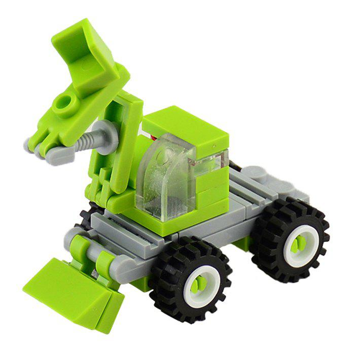 Affordable 34 PCS DIY Excavator Building Blocks for Kids