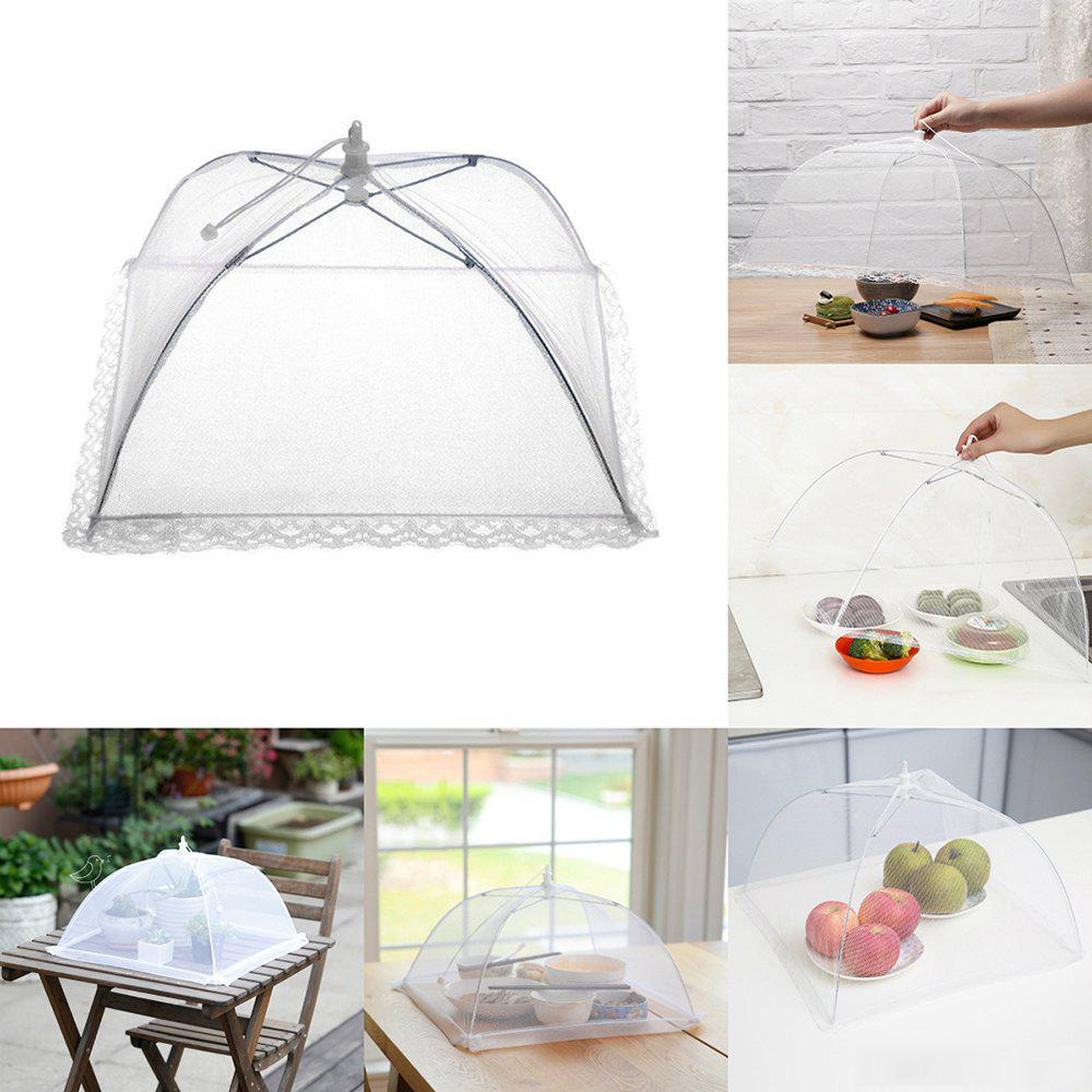 Fashion Mesh Folding Lightweight Fly-proof Dirt-resistant Food Tent Cover