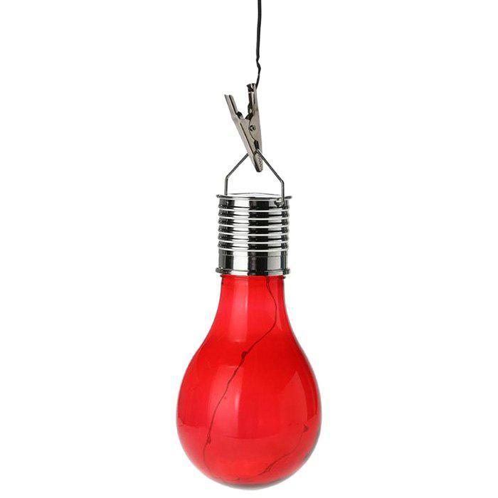 Cheap HJ006 LED Colorful Bulb Outdoor Decoration Waterproof Solar Light