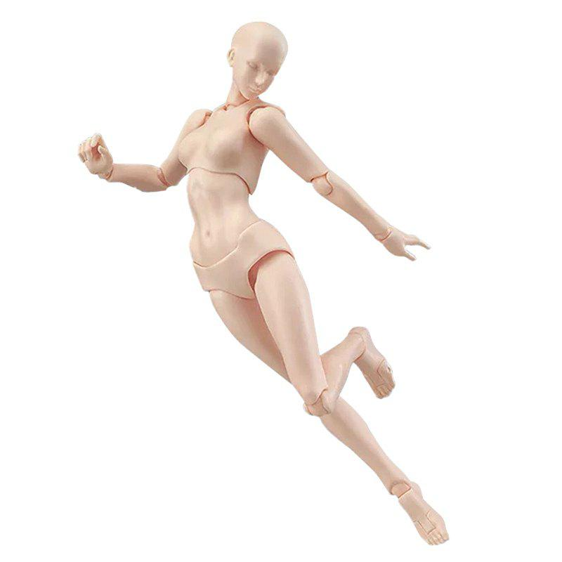 Affordable PVC Skin Color Human Body Model Doll