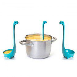Cute Nessie Monster Soup Spoon Strainer Kitchen Tool -