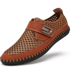 Male Breathable Lightweight Leisure Mesh Shoes -