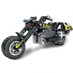 5801 Building Block Puzzle Games Motorcycle for Kids Learning Toys -