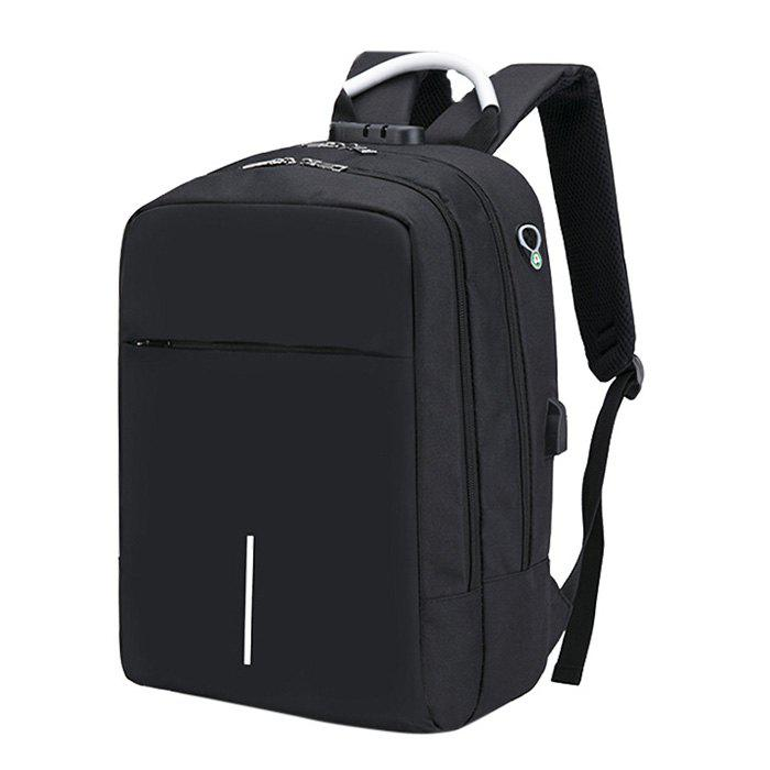 Affordable Large Capacity Burglar-proof Oxford Cloth Backpack with USB Charging Port