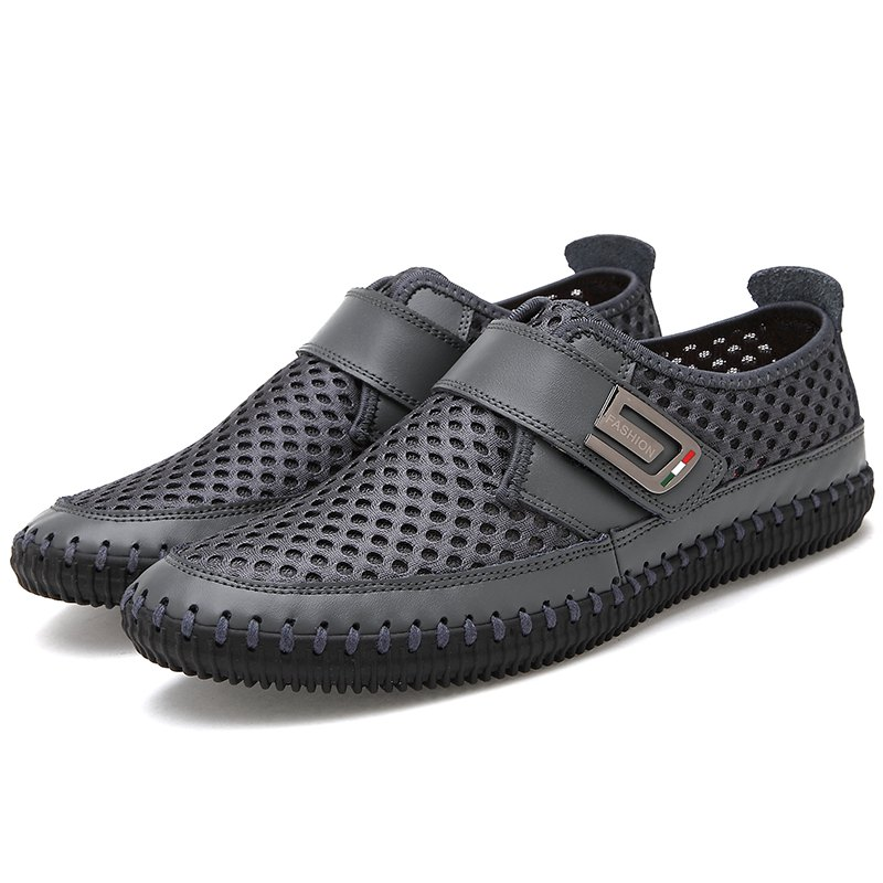Buy Male Breathable Lightweight Leisure Mesh Shoes