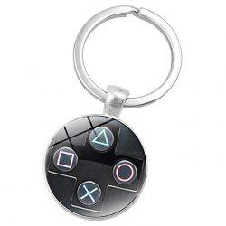 Gamepad Style Key Chain Collection Gift Key Ring -