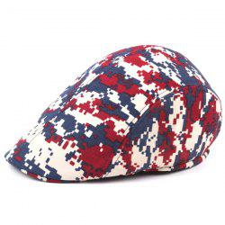 Outdoor Casual Camouflage Breathable Canvas Visor Forward Hat Cap Beret -
