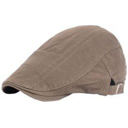 Outdoor Casual Breathable Cotton Visor Forward Hat Beret -