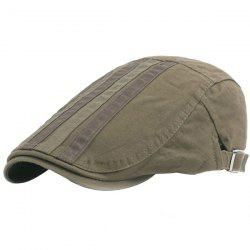 Outdoor Casual Breathable Cotton Visor Forward Hat Cap Beret for Men -