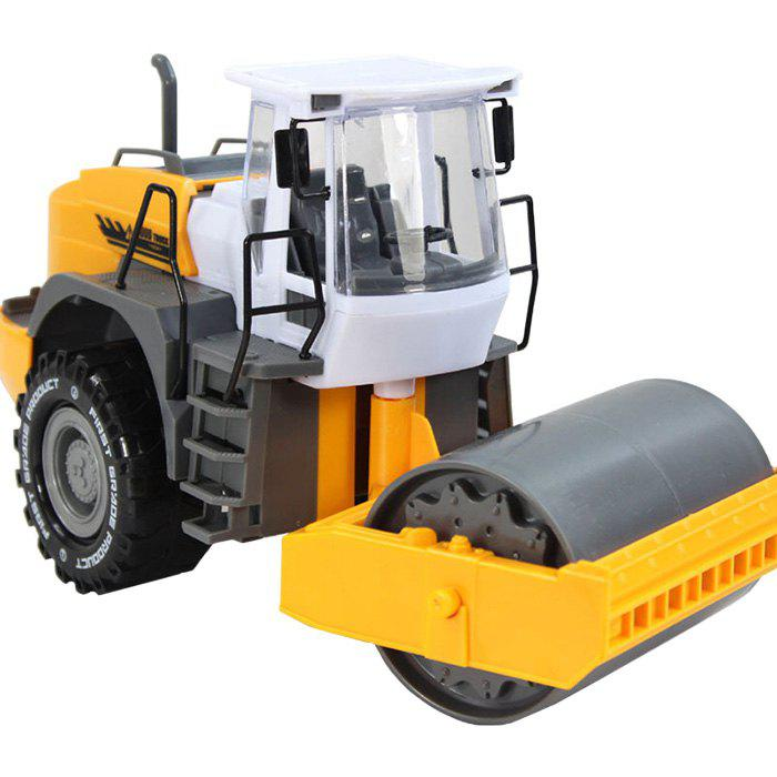 Hot Kids Simulation Road Roller Truck Model Pull-back Vehicle Toy