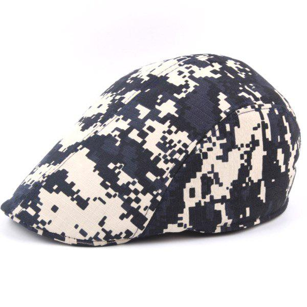 Latest Outdoor Casual Camouflage Breathable Canvas Visor Forward Hat Cap Beret