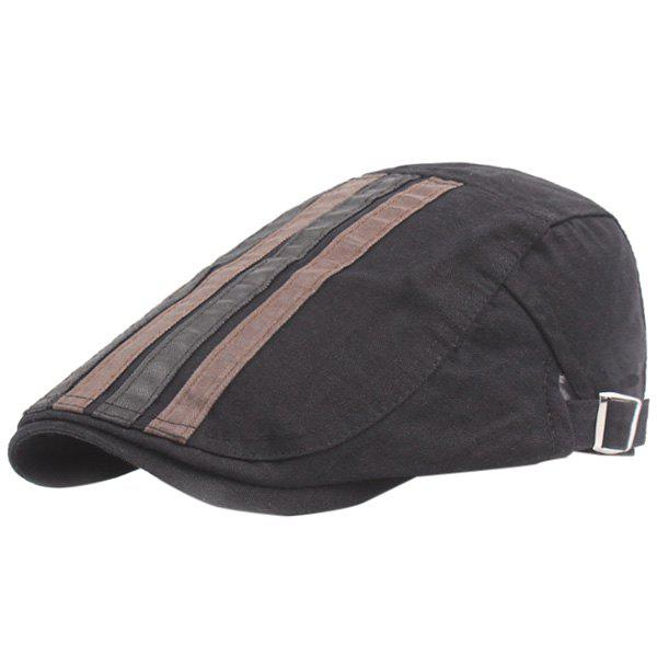 Cheap Outdoor Casual Breathable Cotton Visor Forward Hat Cap Beret for Men