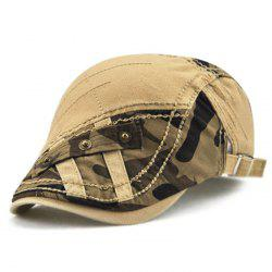 Fashionable Delicate Cotton Beret Camouflage Pattern Cap -