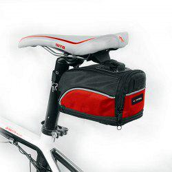 Hotspeed Bicycle Tail Pack Mountain Bike Saddle Bag for Riding -