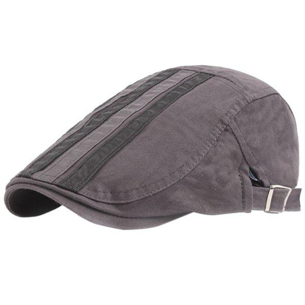 Trendy Outdoor Casual Breathable Cotton Visor Forward Hat Cap Beret for Men