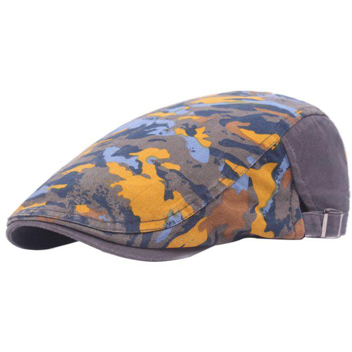 Fashion Casual Breathable Outdoor Cotton Visor Forward Hat Cap Beret