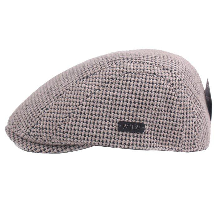 Fancy Outdoor Casual Thicken Breathable Cotton Cap Beret for Men