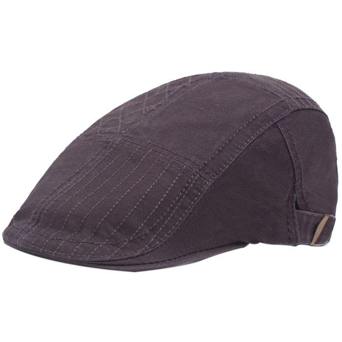 New Casual Visor Forward Hat Cotton Breathable Outdoor Cap Beret