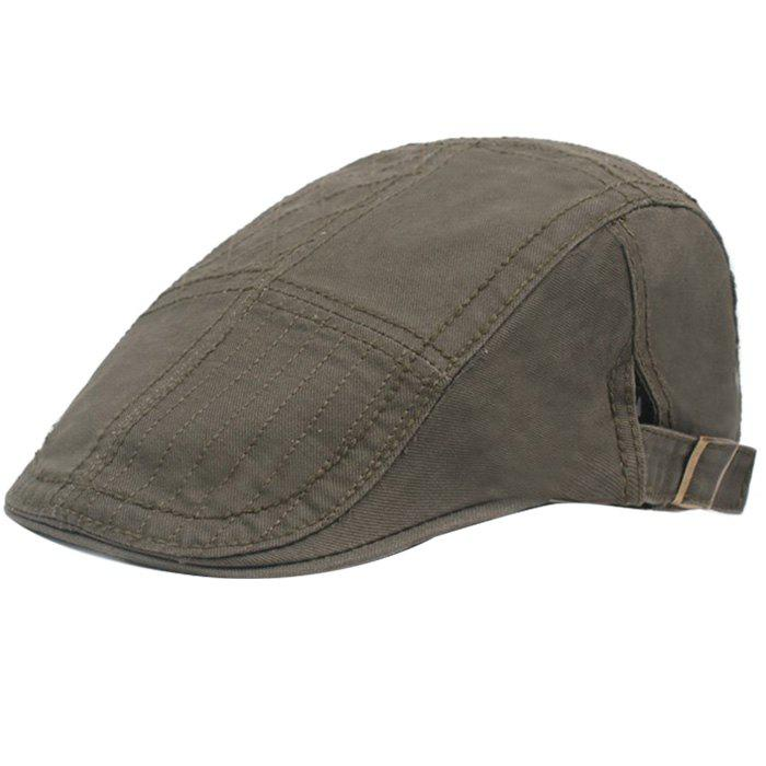 Online Casual Visor Forward Hat Cotton Breathable Outdoor Cap Beret