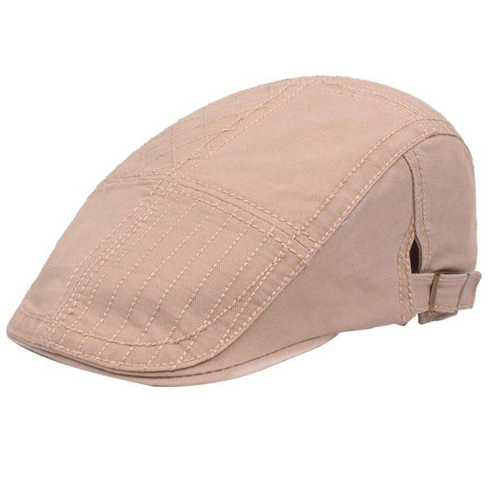 Outfit Casual Visor Forward Hat Cotton Breathable Outdoor Cap Beret