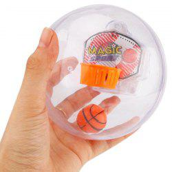 Light Music Basketball Shooting Handheld Pressure Reduction Toy -