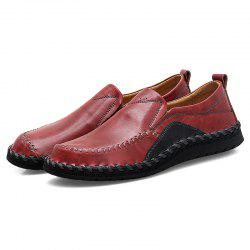 Breathable Round Toe Platform Flat Heel Casual Shoes for Men -