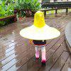 Creative Little Yellow Duck Raincoat Toy Great Gift for Children -