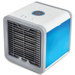 USB Charge Type Mini Fan Colorful Lamp Portable Air Conditioner -