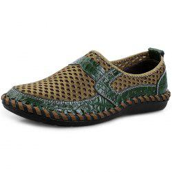 Stylish Splicing Breathable Slip-on Casual Shoes for Men -