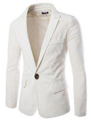 Stylish Casual Slim Fit One Button Suit Jacket Blazer for Men -