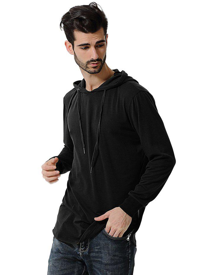 Sale Comfortable Men Large Size Casual Long Sleeved Hoodie