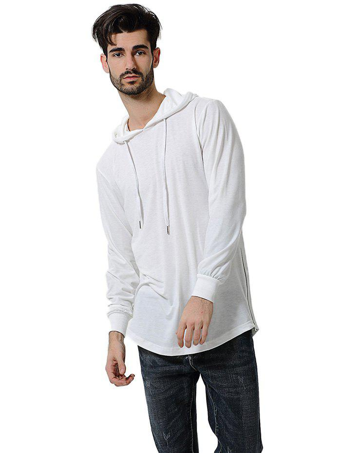 Fashion Comfortable Men Large Size Casual Long Sleeved Hoodie