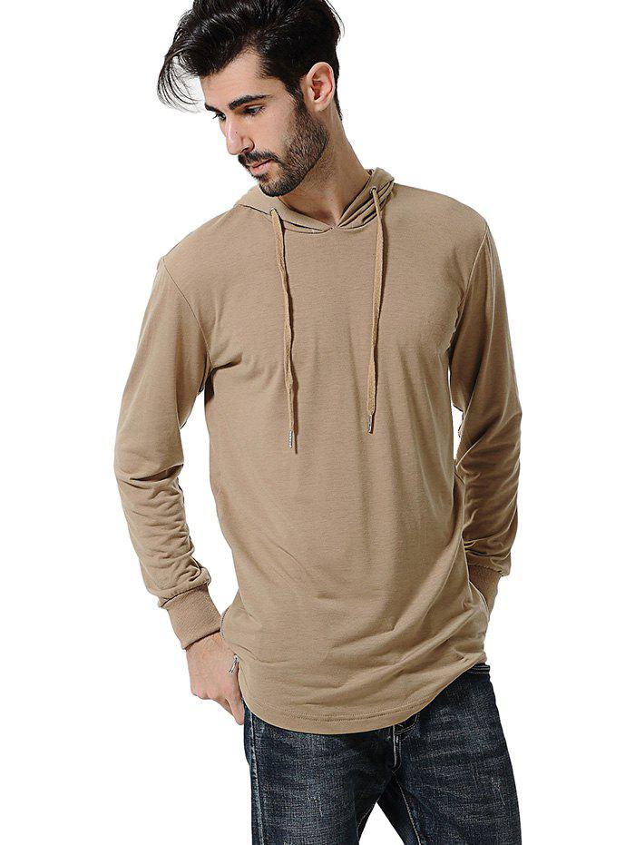 Store Comfortable Men Large Size Casual Long Sleeved Hoodie