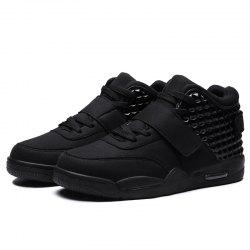 Men High-top Suede Upper Outdoor Sports Shoes -