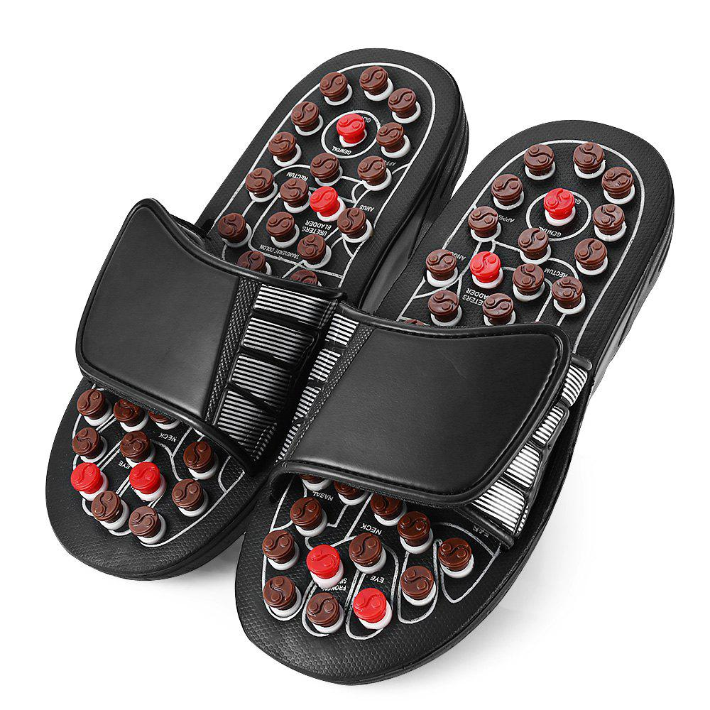 0595e0c32 Store Foot Massage Slippers Rotating Acupuncture Points Therapy Ergonomic  Design for Men Women
