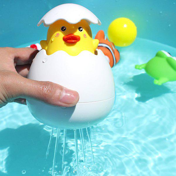 Yellow Duck Broken Egg Pulling Water Shower Bath Floating Toy