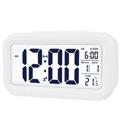 Time Set Alarm Clock with Snooze Dimmer -