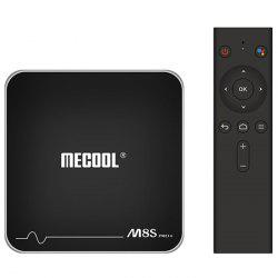 MECOOL M8S PRO+ Android TV OS TV Box with Voice Remote Control Amlogic S905W Android 7.1 2GB RAM + 16GB ROM 2.4G WiFi 100Mbps BT4.2 Support 4K H.265 -