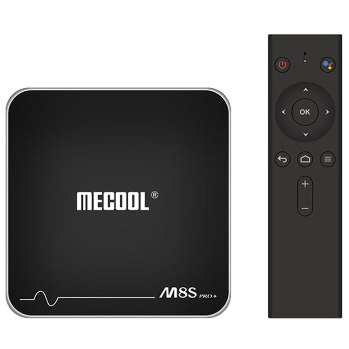 Latest MECOOL M8S PRO+ Android TV OS TV Box with Voice Remote Control Amlogic S905W Android 7.1 2GB RAM + 16GB ROM 2.4G WiFi 100Mbps BT4.2 Support 4K H.265