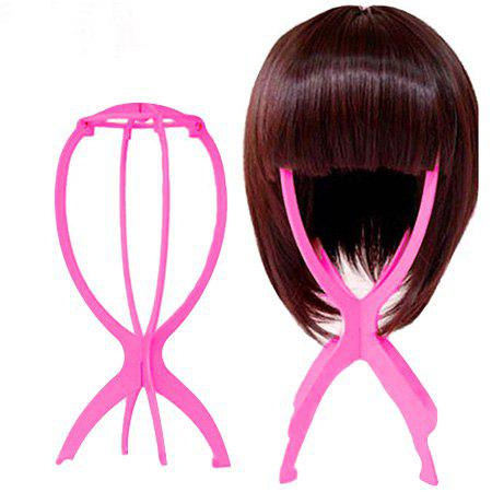 Wig Stand Supporter Special Nursing Tool Accessory, Hot pink
