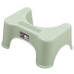 Ergonomic Bathroom Foot Pad Toilet Ottoman with Phone Stand -