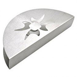 Stainless Steel Western-style Fan Shaped Creative Tissue Holder -