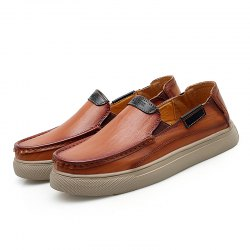 Men Business Casual Leather Shoes -
