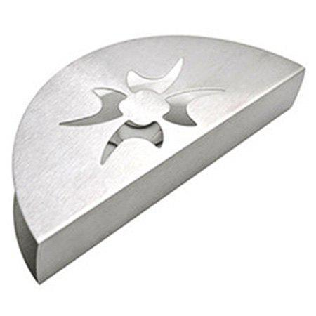 Cheap Stainless Steel Western-style Fan Shaped Creative Tissue Holder