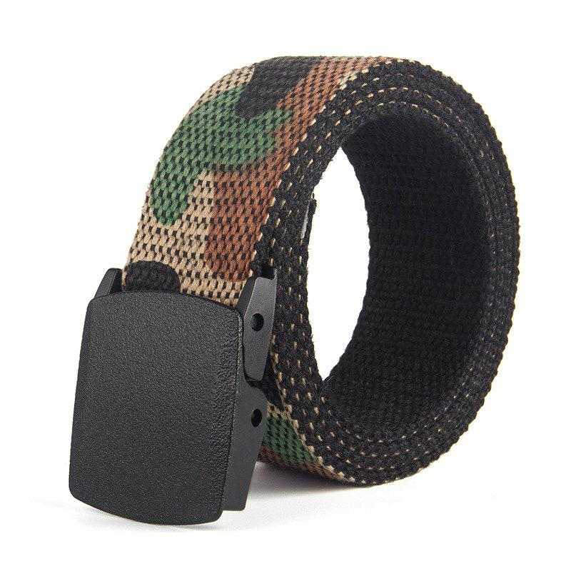 Classic Camouflage Smooth Bucket Weave Belt for Men