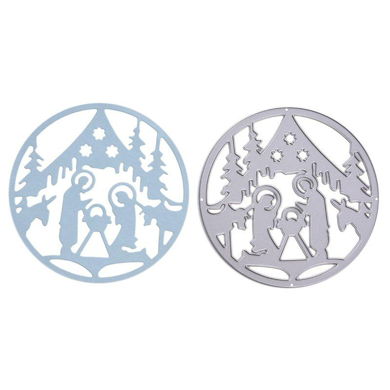 Cheap Christmas Pattern Metal Stencil Mould DIY Carbon Steel Cutting Die