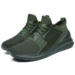 Модные Breathable Lace-up Comfort Casual Sneakers для мужчин -
