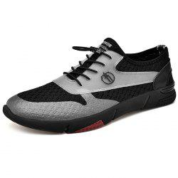 Men Lace Up Casual Sports Shoes Sneaker -