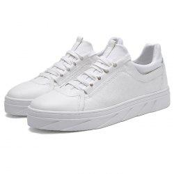 Men PU Leather Casual Sports Shoes -